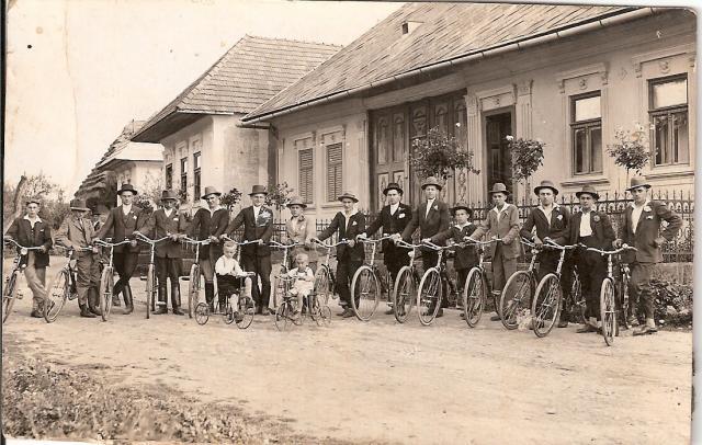 Dolné Šipice a cyklisti